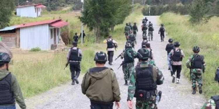 Satu Brimob Tewas Dalam Kontak Senjata dengan KKB di Kiwirok