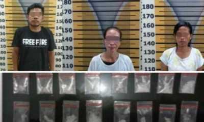 Dua Wanita dan Satu Orang Pria Ditangkap Polres Tebing Tinggi Karena Miliki Narkoba