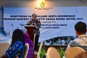 Tuntaskan Penyaluran BPUM 2021, Kemenkop Koordinasi dengan Pemda