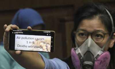 Anies Hormati Warga yang Menggugat Polusi Udara di DKI