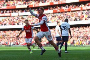 Arsenal Lumat Tottenham 3-1 Dalam Derby London Utara
