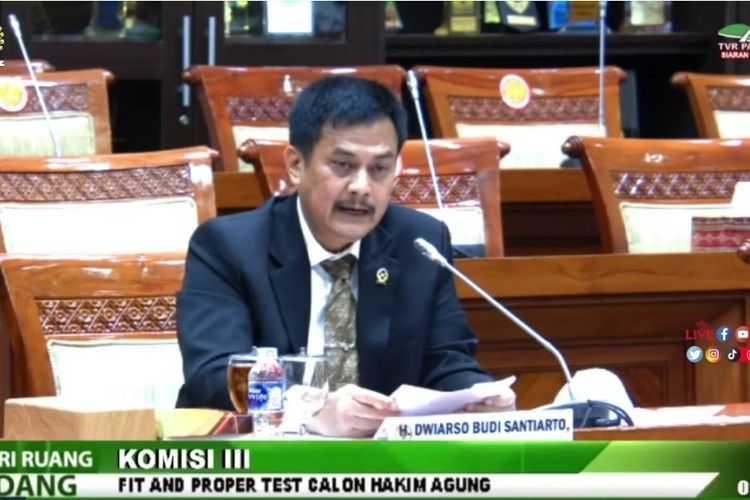 Fit and Proper Test, CHA Dwiarso Budi Soroti Pentingnya UU Perampasan Aset