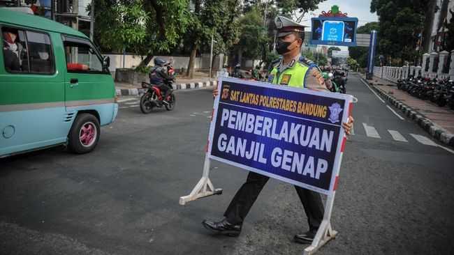Mulai Jumat Nanti, Polisi Bakal Berlakukan Ganjil Genap Kendaraan dari Gerbang Tol Menuju Kota Bandung