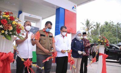 Menteri ESDM Resmikan 17 Penyalur BBM 1 Harga, Gubernur Zul Harap Dukung Gelaran WSBK dan MotoGP