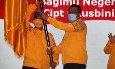 Gubernur NTB Lepas Kontingen Atlet PON XX Papua