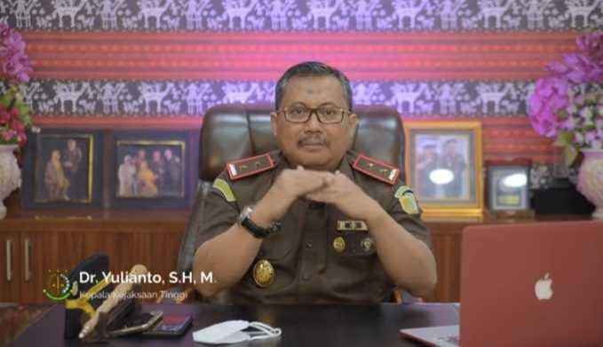 Dr. Yulianto Sabet Predikat Kajati Terbaik, Robert Jimmy Lambila Susul Sebagai Kajari Terbaik