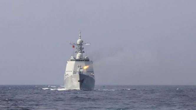 Kapal Perang China Mondar Mandir di Laut Natuna, PKS Tegur Menhan Prabowo Agar Bersuara Tegas