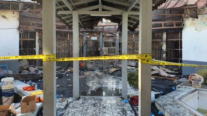 Lapas Tangerang Terbakar, Wagub Banten Bilang Begini