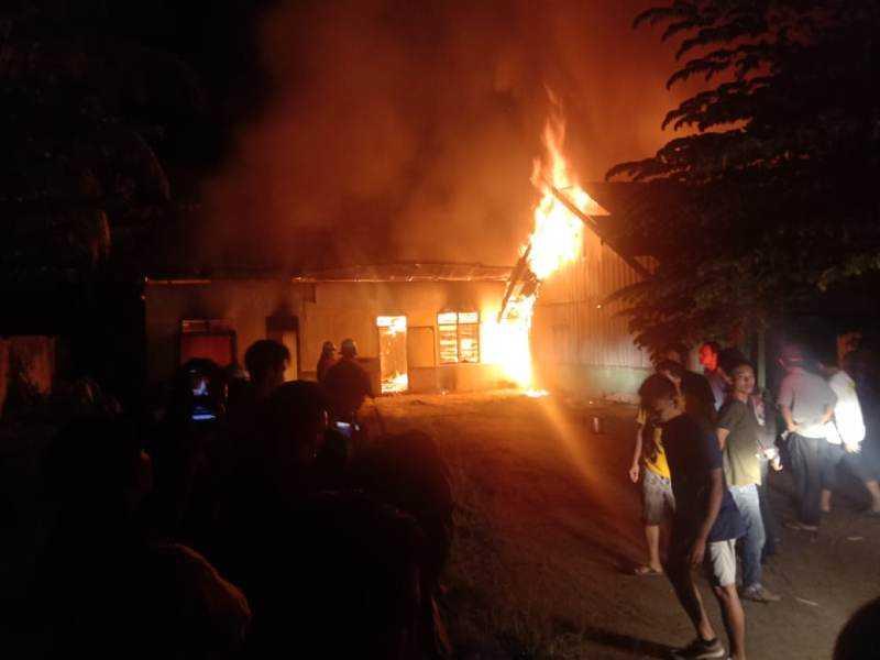 FKIB Desak Polisi Usut Pembakaran Vihara Deli Serdang