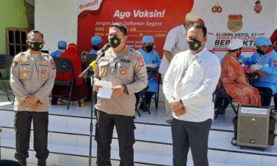 Alumni Akpol 97 Gelar Vaksin Massal di Masjid - Al Hiday Oesapa