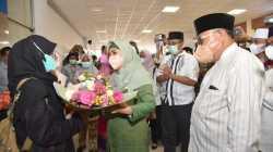 Tiba Di Bandara Lombok, Kafilah STQ NTB Disambut Meriah
