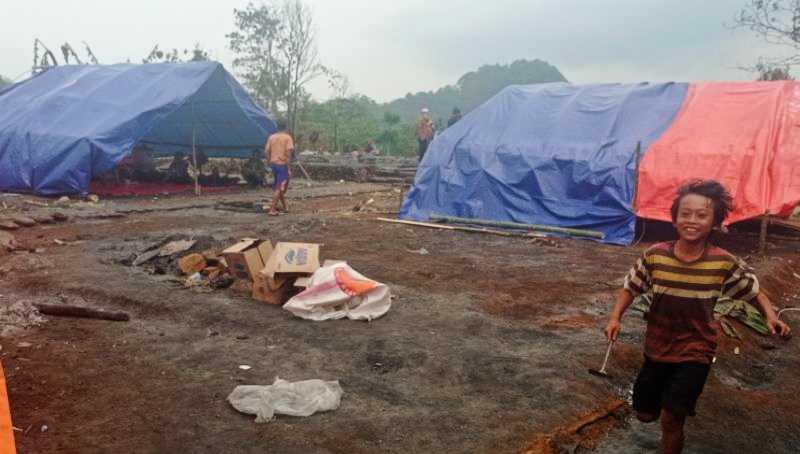 Warga Badui yang Menjadi Korban Kebakaran Ingin Dapatkan Bantuan Rumah
