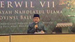 Hadapi Tantangan Perubahan, PWNU Bali Berharap Ada Regenerasi Kepemimpinan