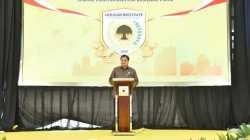 Di HUT Golkar ke 57, Airlangga Sebut Golkar Konsisten dan Komitmen Kawal Pemerintahan Jokowi Hingga Akhir