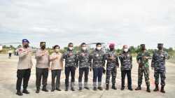 Komisi I DPR RI Tinjau Latihan Perang TNI AL di Dabo Singkep Kepri