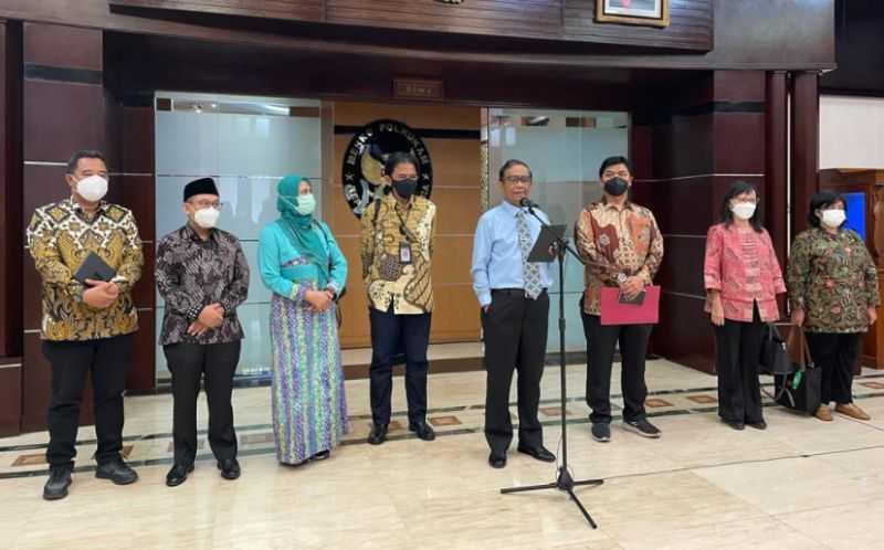 Ketua Timsel Anggota KPU dan Bawaslu Konsultasi ke Mahfud MD
